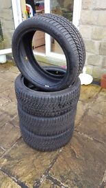 Continental Winter Tyres. 225/40 R 18 V XL. Set of 4