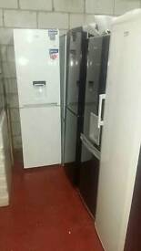 Fridge freezers on sale today starting prices £99 warranty included