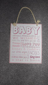 Brand New Baby Girl Room Decoration - Picture