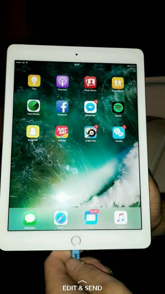 IPAD AIR PRO 2 WIFI AND 4Gin Rumney, CardiffGumtree - Ipad air pro 2 comes with wifi and can also put your sim card in this. Excellent condition selling due to bought a new one. Can deliver wherever. Comes with charger aswell. Can be seen on aswell text or call for any enquiries thanks