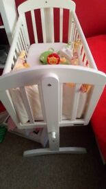 Baby crib and accessories