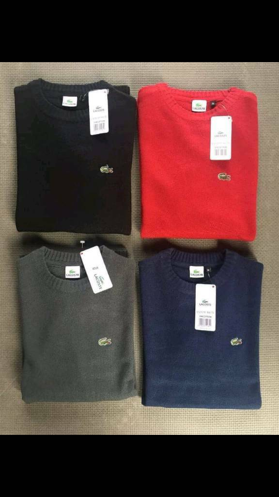 Lacoste jumpers