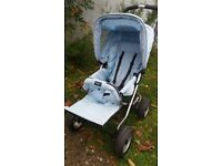 Emmaljunga Buggy in Baby Blue