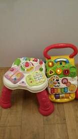 Vtech baby walker and sit-to-stand