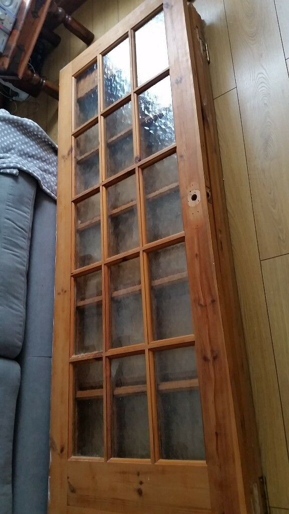 Internal Doors 3 With 15 Glass Panels 4 Solid Pine 6 Panel In