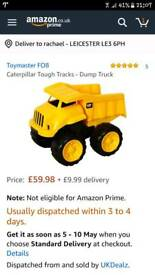 Cat tough trucks dump truck