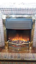 Dimples Horton HTN20 Coal Effect Fan Heater