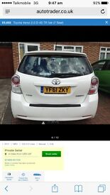 Toyota Verso 7 seaters