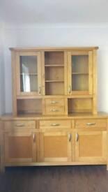 Sideboard and display top dresser sterling furniture