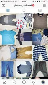 Baby clothes, boys 0-6 months and some older boys