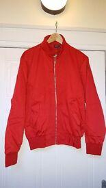 BRAND NEW HIGH QUALITY Men's Red Harrington Jacket | Small, Medium or Large | RRP £45 | Mod Skin