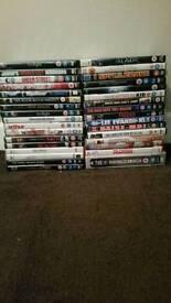 Job lot, 34 DVD's including series