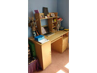 Computer desk - used but in sound condition