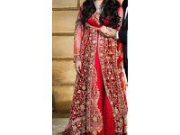 ASIAN HEAVY WEDDING DRESS LENGHA