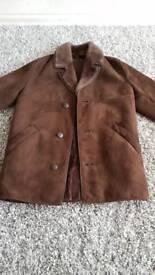Men's sheepskin jacket