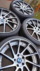 20inch BMW wheels and tyres
