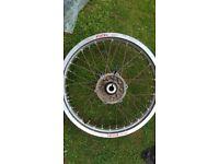 "YZ 250/125. WRF 250/400/450. Rear Wheel. 18"" Excell."