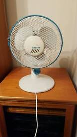2 speed electric table top fan