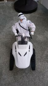 Awesome HM Armed Force's snow mobile and action figure