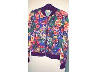 Women's lightweight flower jacket