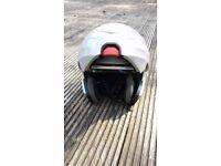 motorbike helmet . flip up front