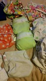 Reusable Nappies large bundle