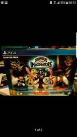 Skylanders imaginators ps4 game starter pack