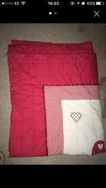Red Bed Blanket