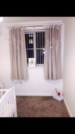 Millie and borris curtains and lightshade