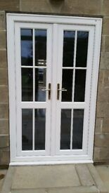 UPVC French/Patio Doors For Sale. Excellent condition only 3 years old.