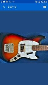 Fender ( Pawn Shop ) Mustang Bass