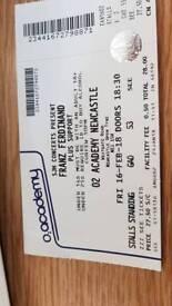 Franz Ferdinand ticket - O2 academy Newcastle