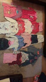 Bundle of girl clothes 3-4 years