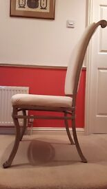 6 Large Dining/occasional Chairs
