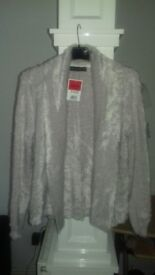 New with tags ladies cream cardigan size 10 M&S