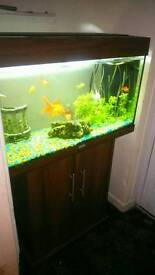 2.5foot fish tank and stand