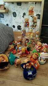 collectable winnie pooh teddies