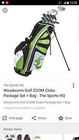 woodworm golf clubs