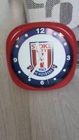 Stoke city clock