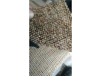 5 x 5.47m brown carpet