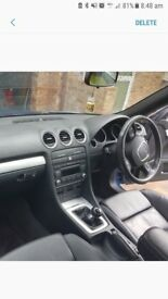 Audi A4 Convertible 1.8