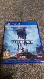 PS4 Star wars battle front - still sealed