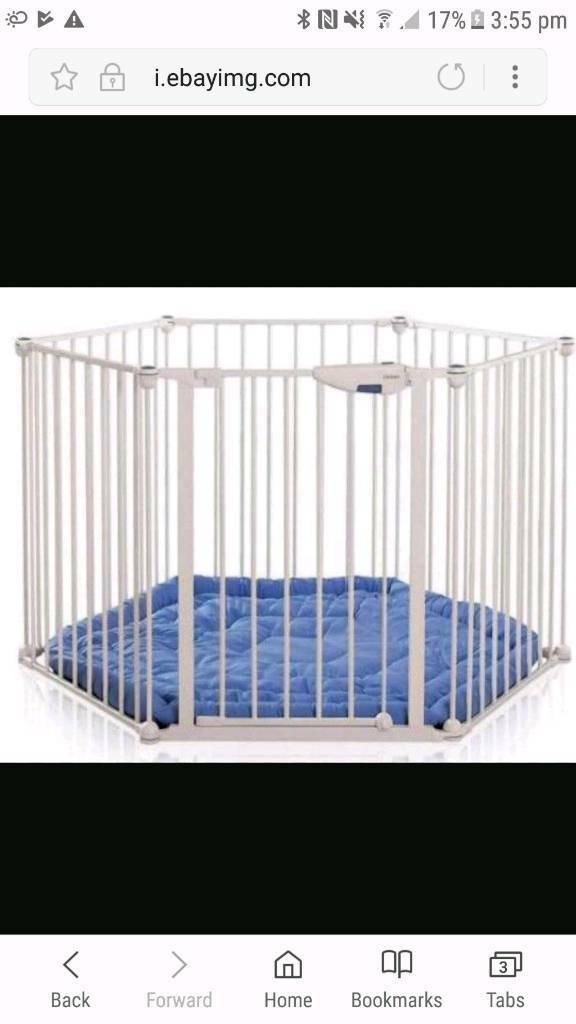 Lindam safe and secure playpenroom divider in Perth Perth and