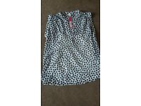 Brand new Debenhams maternity summer blouse size 12