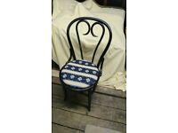 4 bentwood upholstered chairs. Great for using in bedrooms as well as dining room/kitchen