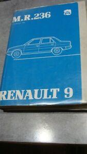 """documentation technique automobile Renault 9 M.R.236 - France - État : Occasion : Objet ayant été utilisé. Consulter la description du vendeur pour avoir plus de détails sur les éventuelles imperfections. Commentaires du vendeur : """"Quelques pages cornées, bon état général."""" - France"""