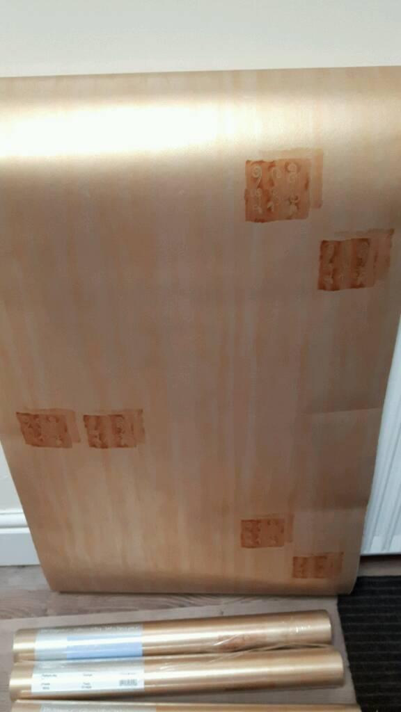New 6 rolls of wallpaper.