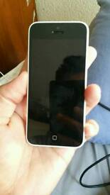 IPhone 5c 32gb white color unlocked excellent condition like new