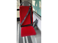 Folding passenger seat for Minibus van with 3 point seat belt
