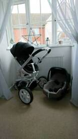 QUINNY MOODD PUSHCHAIR AND Maxi pabble